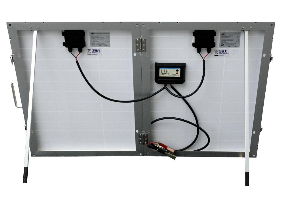 100w 100 watt solarkoffer solarpanel solarmodul inkl laderegler solar koffer. Black Bedroom Furniture Sets. Home Design Ideas